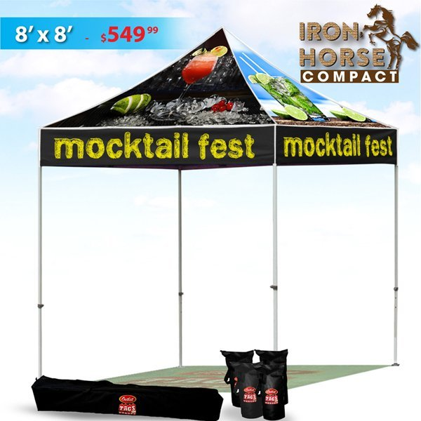 Iron horse tent package 8x8 outlet tags canopies ltd for Nfpa 99 table of contents