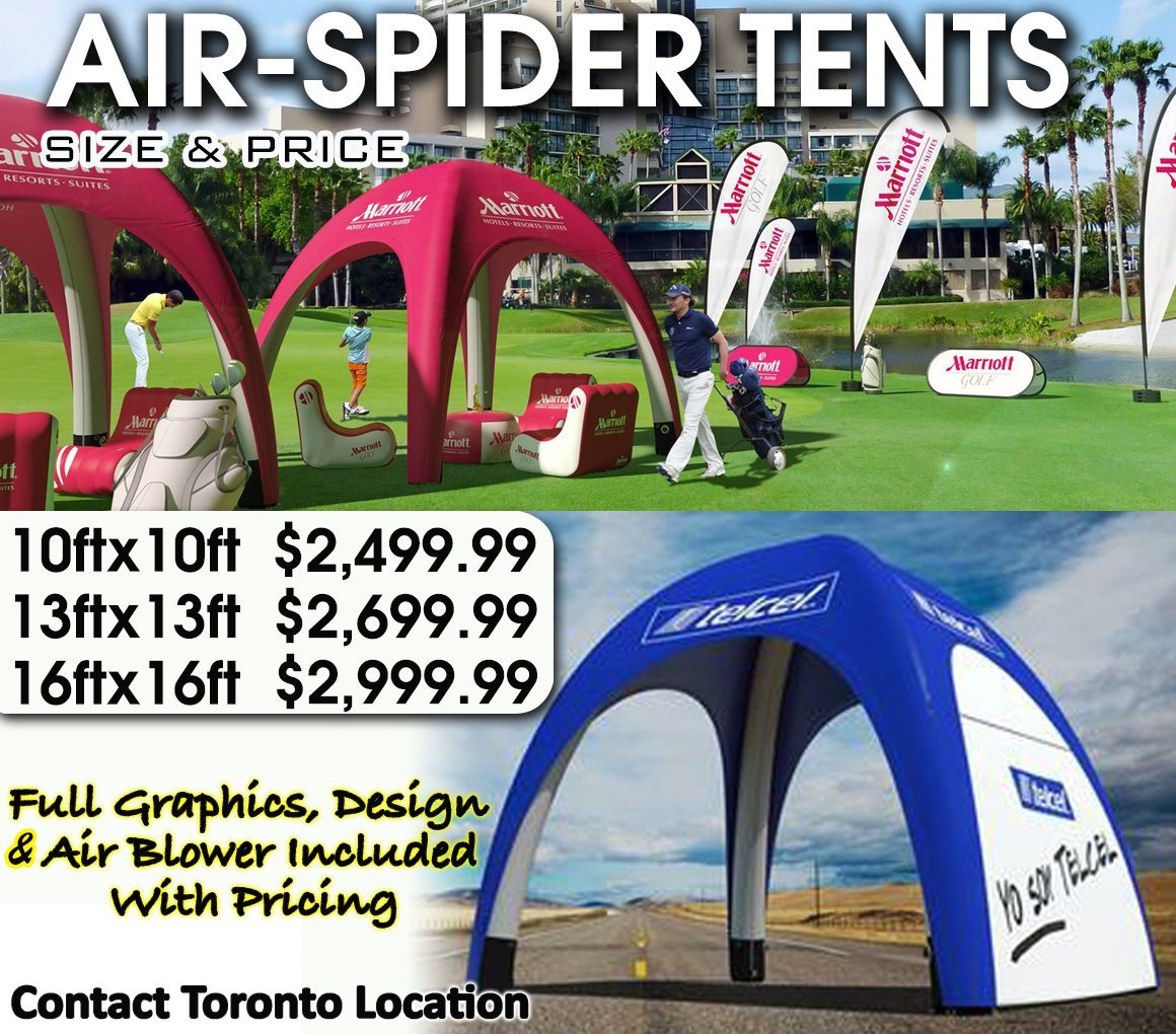 Air spider tents for Nfpa 99 table of contents