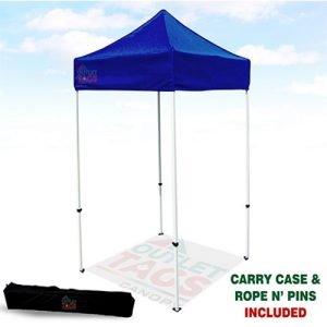 5x5 Blue Iron Horse Canopy