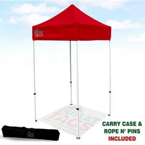 5x5 Red Iron Horse Canopy