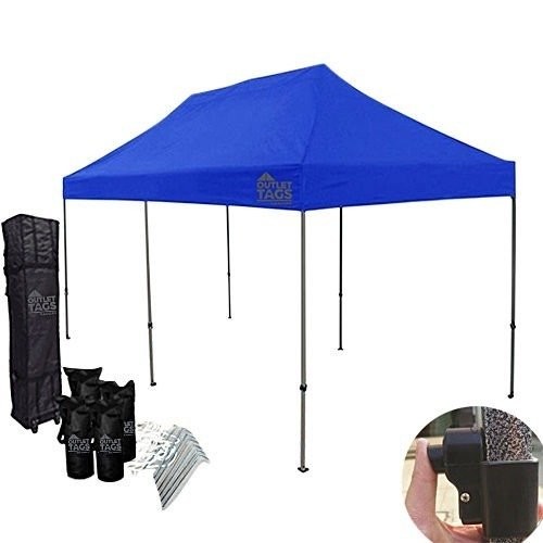 10x20 blue pop up tent