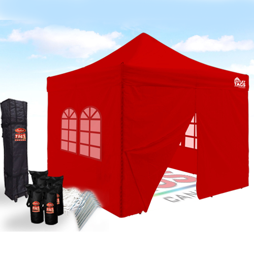Pop up canopyPop up canopy tent pop up tentspop up tent  sc 1 st  Outlet Tags & Iron Horse Canopy Tent with Walls Bundle - Colour Red | Outlet ...