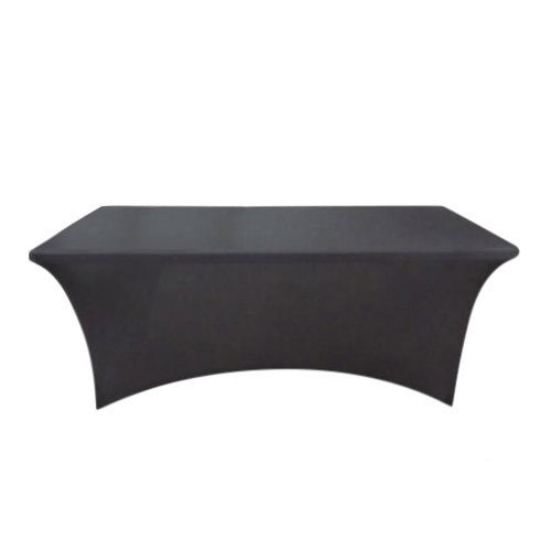 Black Table Cover For Trade Shows & Events
