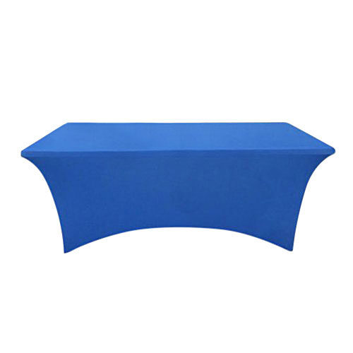 Blue Table Cover For Trade Shows And Events