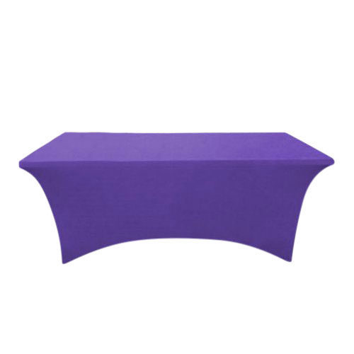 Purple Table Cover For Trade Shows & Events
