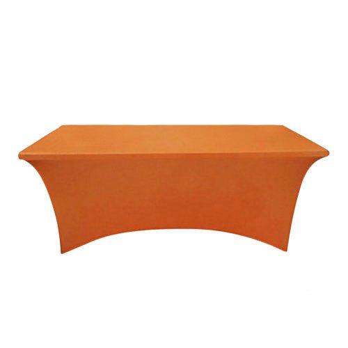 Orange Table Cover For Trade Shows And Events