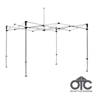 10x10 canopy replacement frame 30 mm steel