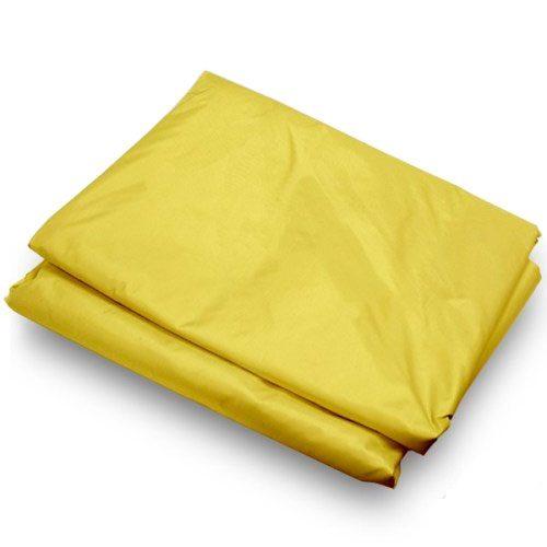 yellow canopy tarp in 10x10