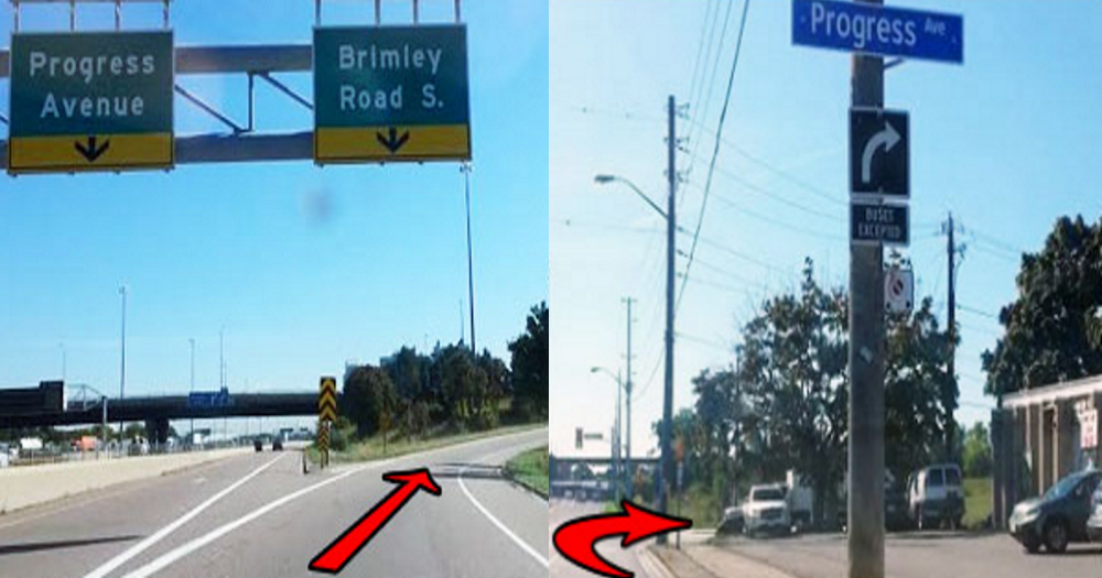 Progress Avenue & Brimley Road S. and turn right to Progress Avenue.