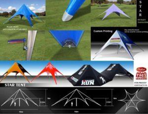 Star tents,