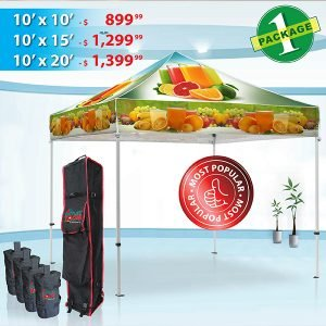 Custom Tent Package 1