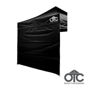 black colour canopy wall
