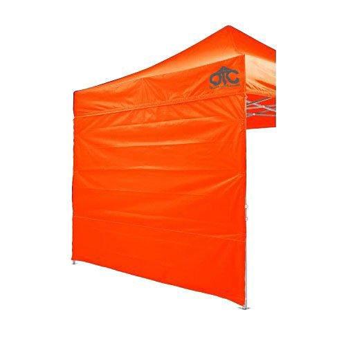Orange Colour Canopy Wall