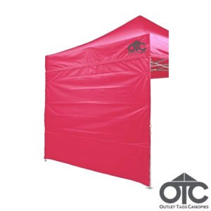 pink colour canopy wall
