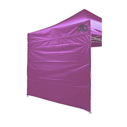 Purple Colour Canopy Wall
