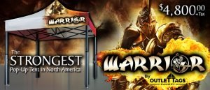 Warrior Canopy Strongest Tent in North America!