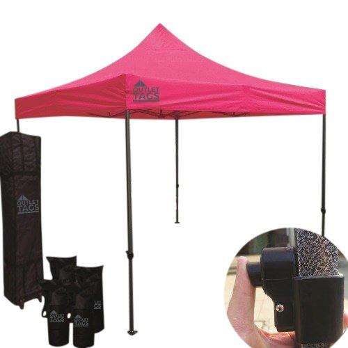 pink pop up tent