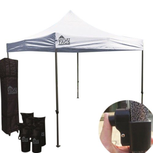 10x10 white pop up tent