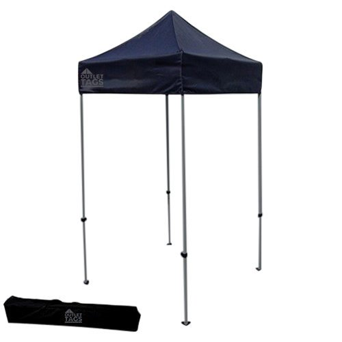 black 5x5 pop up tent canopy