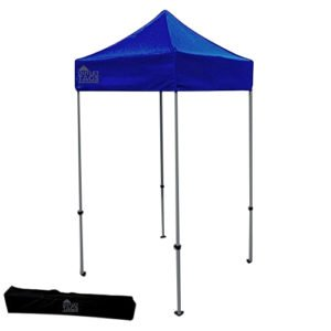 blue 5x5 pop up tent canopy