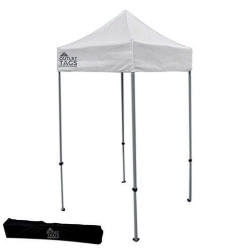 white 5x5 pop up tent canopy