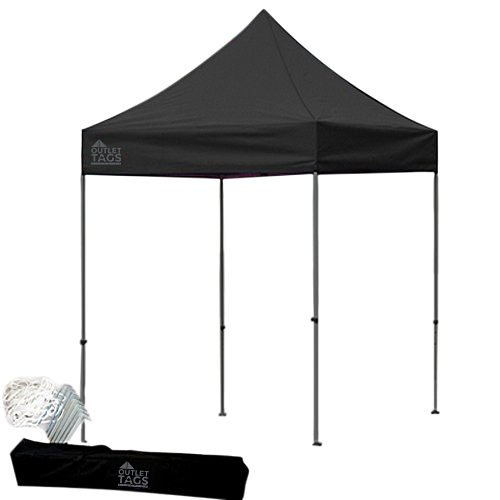black 8x8 pop up canopy tent