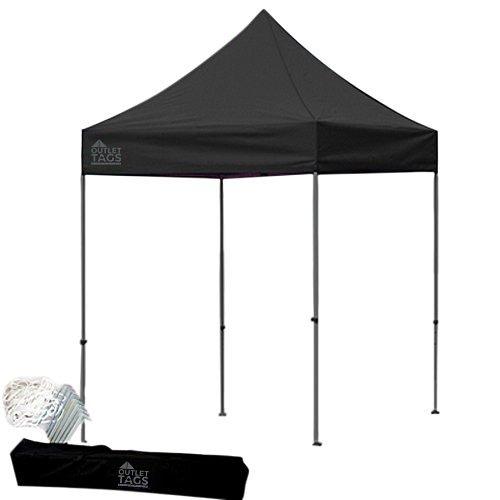 black 8x8 pop up canopy tent