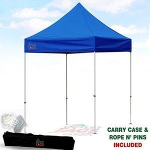 8x8 Blue Iron Horse Canopy
