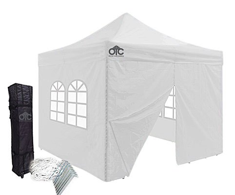 10x10 Light Duty Canopy With Walls White