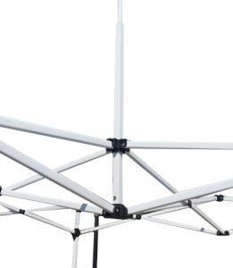 8×8 Iron Horse Canopy Tent Black Colour – White Frame