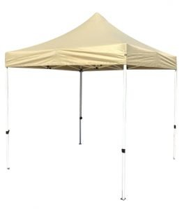 8×8 Iron Horse Canopy with Four Walls – Red