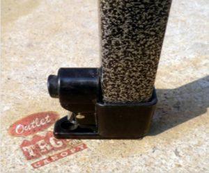 10x10 Iron Horse Canopy - Salt & Pepper Frame - Medium Quality - Grey