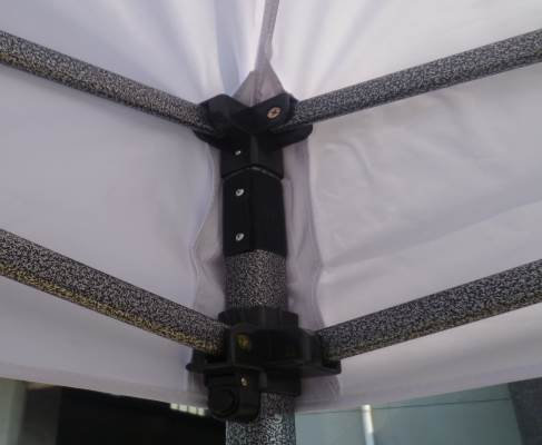 Iron Horse Canopy with Walls Bundle - Colour Black