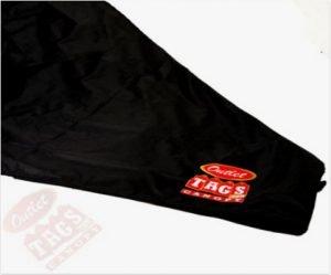 TOP Canopy Tarp – 420D Oxford PVC Water Proof & UV Resistant 10×10 Black