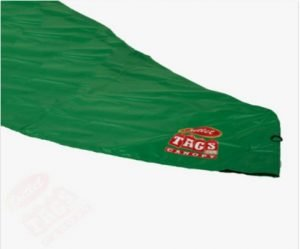 TOP Canopy Tarp – 420D Oxford PVC Water Proof & UV Resistant 10×10 Green