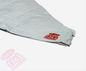 TOP Canopy Tarp – 420D Oxford PVC Water Proof & UV Resistant 10×10 White