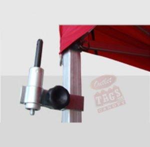 Tent Banner Holder