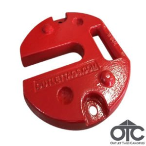 Red 10KG Weight For Tents & Canopies