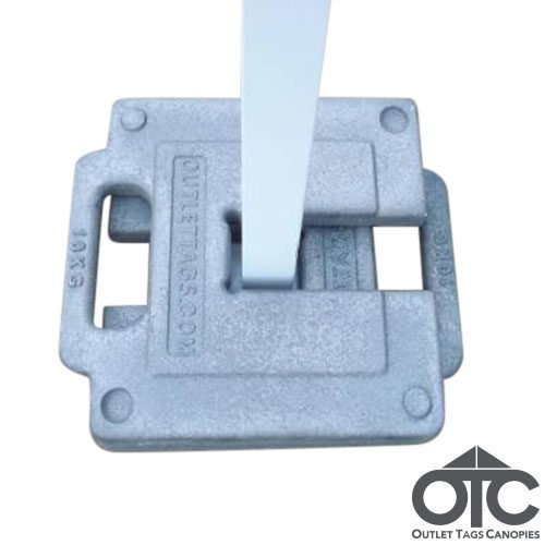 grey 10 kg weight for tents and canopies