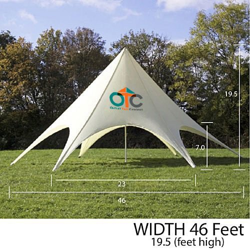 star tent canopy 46 ft