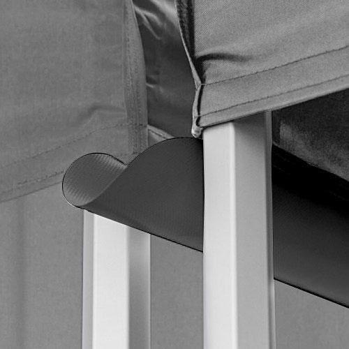 Premium Quality Black Canopy Tent Gutter