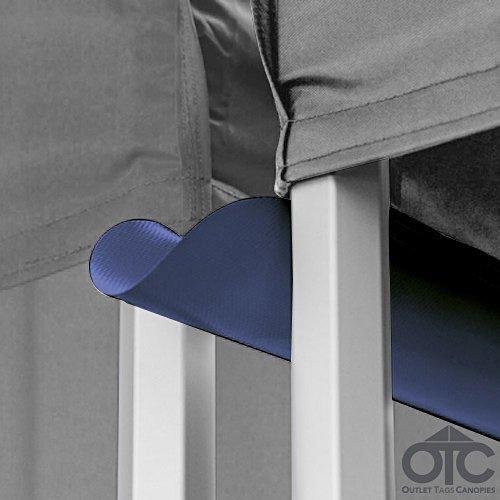 Pop-Up Canopy Tent 10ftX10ft Water (Drain) Gutter -Navy Blue
