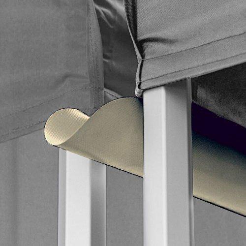 Cream Colour Canopy Rain Gutter - 10ftX10ft Water (Drain) Gutter