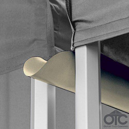 Pop-Up Canopy Tent 10ftX10ft Water (Drain) Gutter - Cream