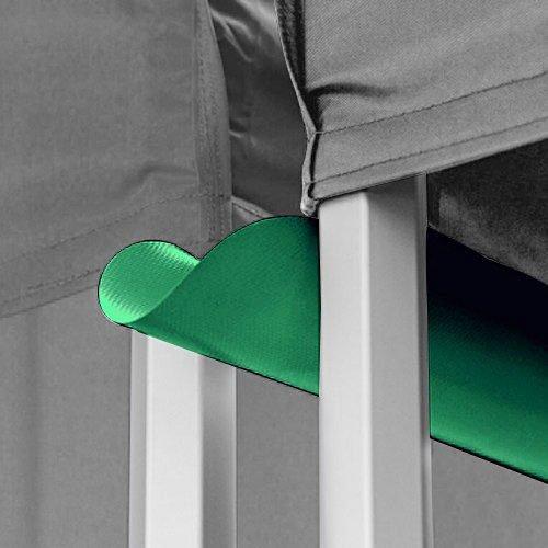 Emerald Green Canopy Tent Gutter