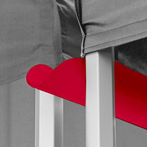 Buy best quality Red canopy rain gutter from OTC Canopies