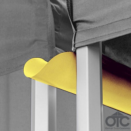 Pop-Up Canopy Tent 10ftX10ft Water (Drain) Gutter -Yellow