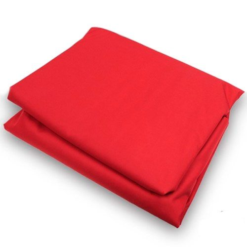 Red Canopy Tarp in 10x10