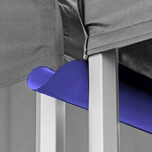 buy light blue canopy tent gutter
