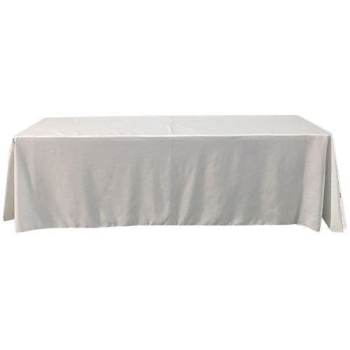 White Table Throw Cover
